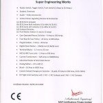 Certificate of Conformity-CE Appendix